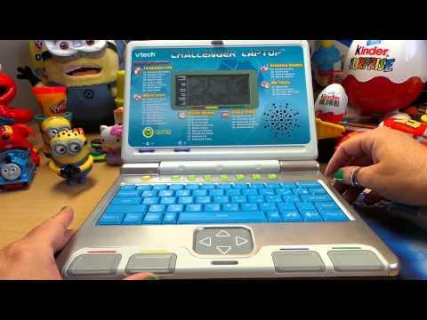 Vtech Challenger Blue Preschool Educational Toy Learning Laptop