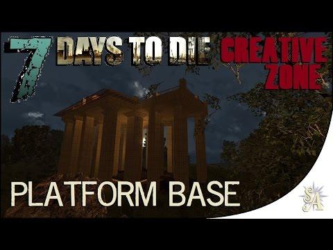 7 Days To Die: Creative Zone - Platform Base