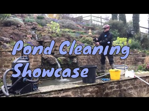 Pond Cleaning Showcase - Oxfordshire