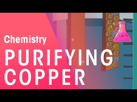 Purifying copper | Chemistry for All | The Fuse School