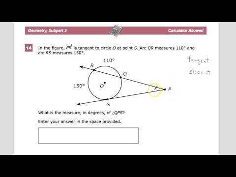 Question 14 - Geometry - TNReady Practice Test