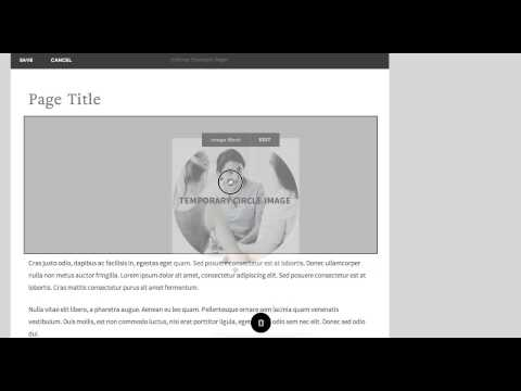 Squarespace 7: Positioning content blocks as