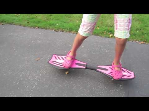 How to ride a RipStik casterboard... a beginner's guide to getting started.