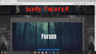 ScareTheater Website
