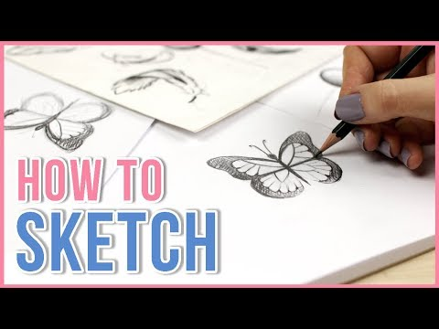 How to Sketch   Sketching Tips for Beginners   Art Journal Thursday Ep. 21