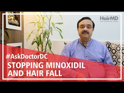 Does stopping minoxidil cause hair loss | HairMD, Pune