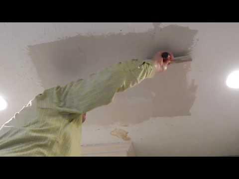 Drywall Repair PLUS Stipple Textured Ceiling in 90 Minutes