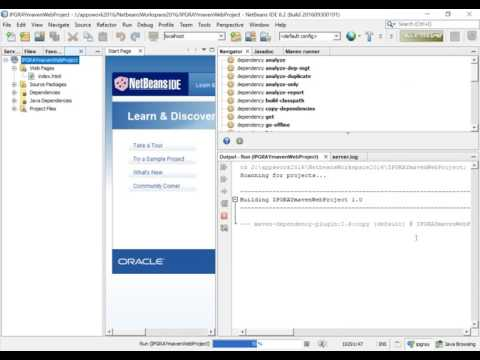 IPGRAY : how to create maven web project in netbeans : part1