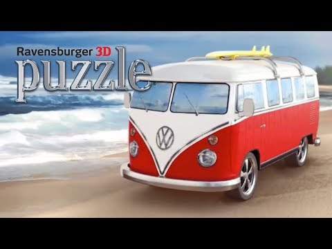 Ravensburger VW Campervan 3D Puzzle 2017