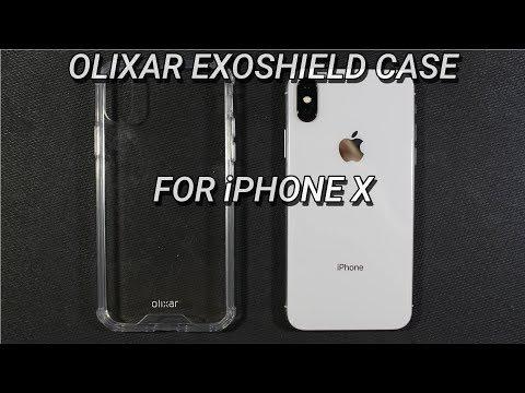 iPhone X Olixar ExoShield Case