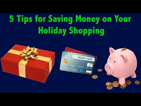 Holiday Shopping Tips — 5 Ways to Save Money on Gifts