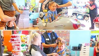 Toddler's Haircut Makeover!