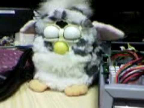 Furby goes sleeping