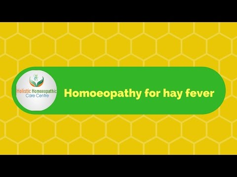 Homeopathy for hay fever-How to prevent hay fever naturally
