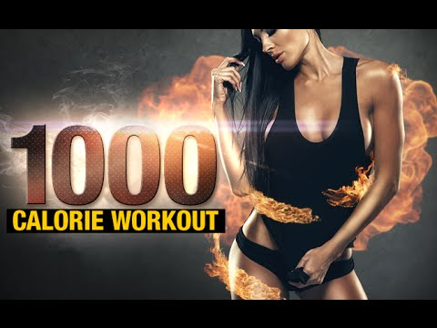 1000 Calorie Workout at Home (45+ MINS OF HIIT!!)