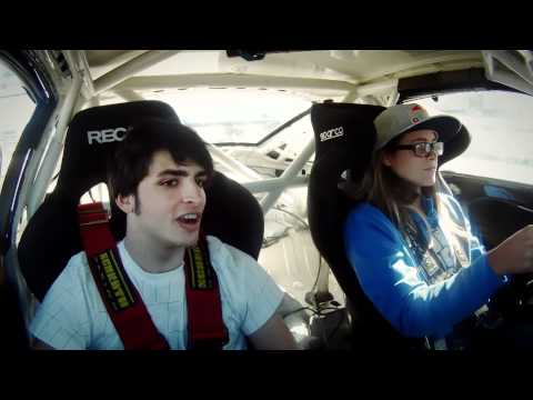 Kitesurf champ Pulido trains for driver's license in race car