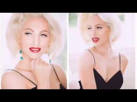 Marilyn Monroe hair