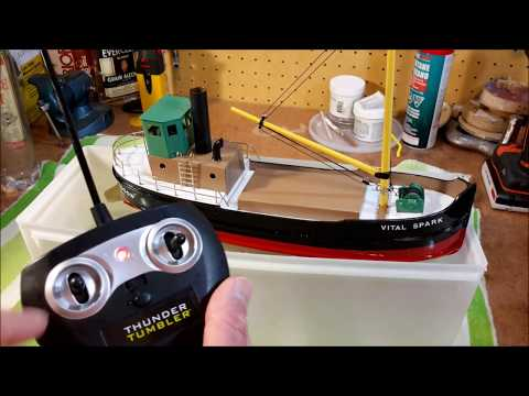 BUILDING A MINIATURE MODEL CLYDE PUFFER STEAM BOAT