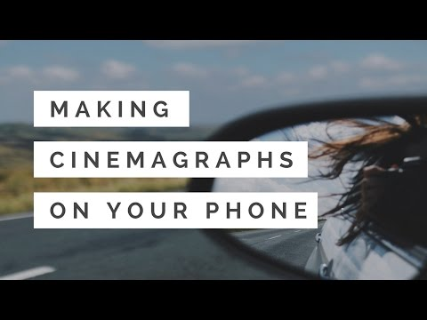 How I make cinemagraphs (moving photos) for Instagram on my phone