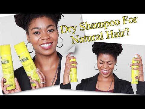 No More Smelly Hair! - Palmer's Olive Oil Dry Shampoo Review, Demo, & Chat - 4C Natural Hair
