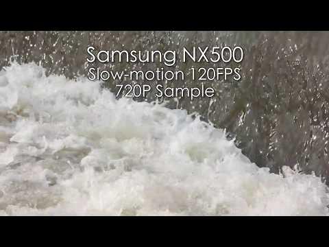 Samsung NX500 - Slow Motion 120FPS Video Sample