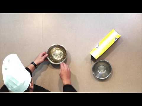 Gold Leaf Gelatin - White Chocolate Mousse