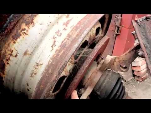 Concrete Mixer for auto hub homemade  /Concrete Mixer is homemade by Russian