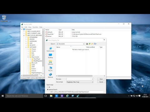 Windows 10 And 8.1 - Registry Backup, Restore, Import And Export