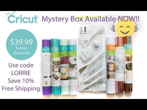 Cricut  Mystery Box - April 10, 2018