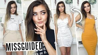 HUGE MISSGUIDED SUMMER CLOTHING TRY ON HAUL! AD