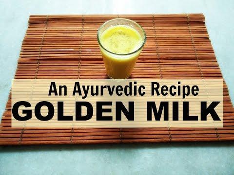 Herbal Golden milk for ARTHRITIS - An Ayurvedic recipe