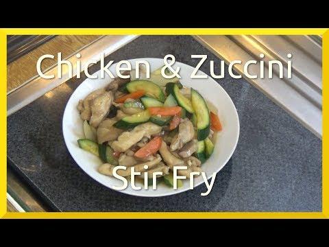 Chicken and Zuccini Stir Fry