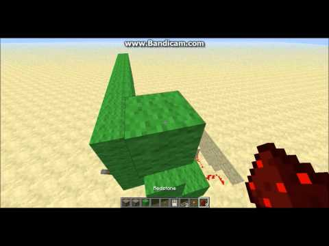 Minecraft - How to Make a Lever Combination (Extendable)