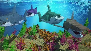 Minecraft | Underwater Survival - WARNING DANGER BELOW! (Mod Adventure) #2