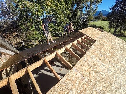 Sunroom & Patio - Roof Sheathing