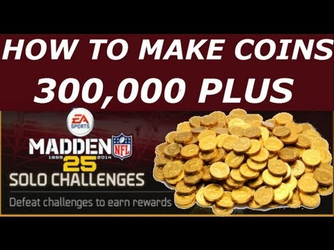 #MUT25 | How to make 300,000+ Coins Madden 25 Ultimate Team | Do SOLO CHALLENGES