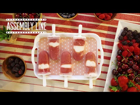 Power Food Smoothie Popsicles | Assembly Line