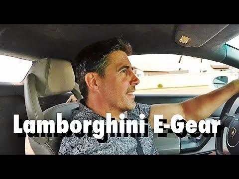 Lamborghini Gallardo Driving Egear Transmission