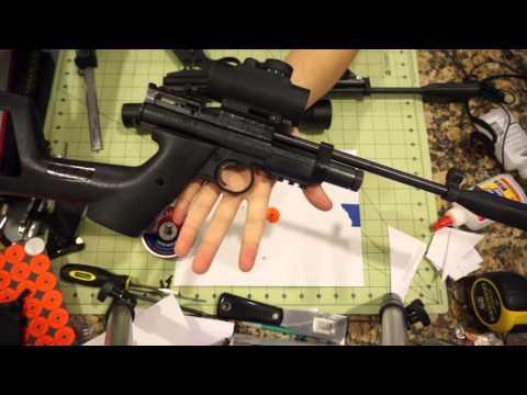 3D Printed Ambidextrous Crosman 2240 Receiver