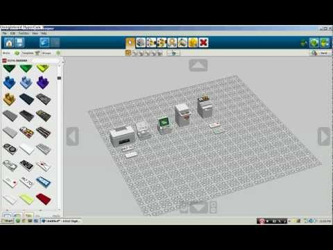 How To Build A Lego Laptop, Computer, Printer, Shredder, And Monitor.