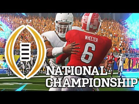 The National Championship Game (The ULTIMATE Player Career)