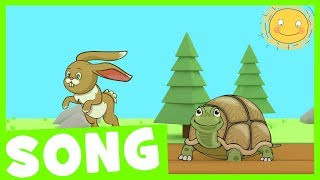 Hop Little Rabbit | Rabbit and the Turtle Song