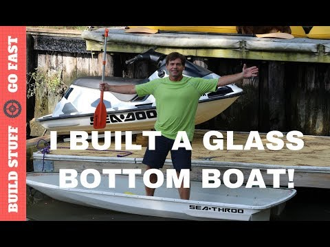 Custom Jet Ski Conversion to Glass Bottom Boat