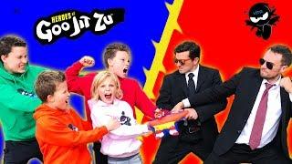 Heroes of Goo Jit Zu Team up with Ninja Kidz!