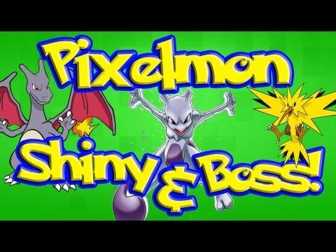 How To Spawn Pokemon, Shiny's, Bosses & Legendary's | Pixelmon Minecraft Mod [2.3.1] [1.6.2[
