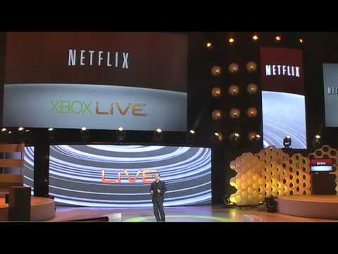 Xbox 360 - New Netflix features on Xbox 360 - E3 Briefing