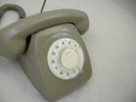 ACF Grey 802 Telecom PMG 1960s 1970s Ringing Australian Retro Telephone