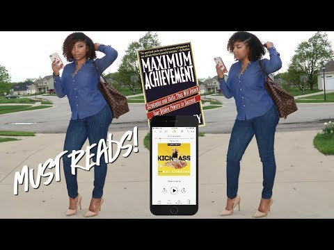BOOKS YOU NEED ON YOUR PHONE | MY AUDIBLE RECOMMENDATIONS