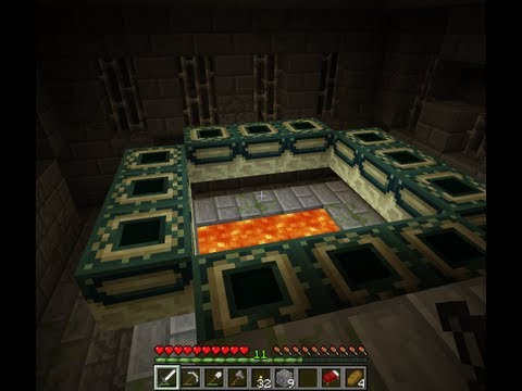 How to find THE END PORTAL.  Stronghold.