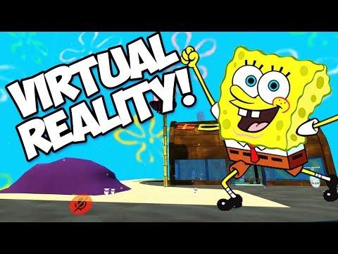 SPONGEBOB SQUAREPANTS IN VIRTUAL REALITY (Krusty Krab, Chumbucket, Bikini Bottom & Rock Bottom)